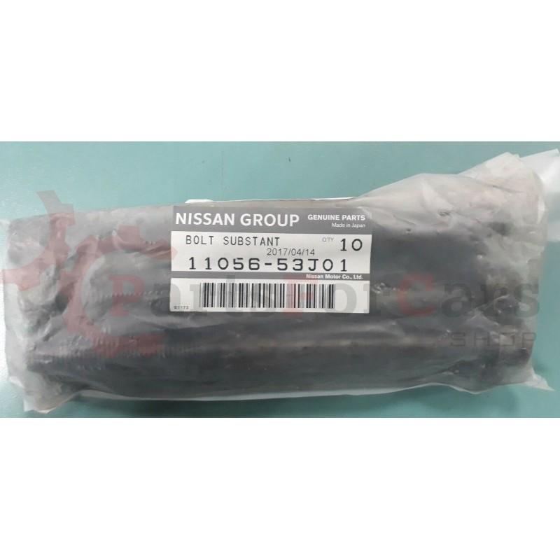Комплект оригинальных болтов ГБЦ Nissan 11056-53J01 для SR20