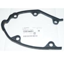 Прокладка центральной защиты ремня ГРМ Subaru 13581AA051