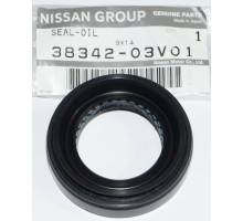 Сальник переднего дифференциала Nissan 38342-03V01 R32 R33 R34 4WD