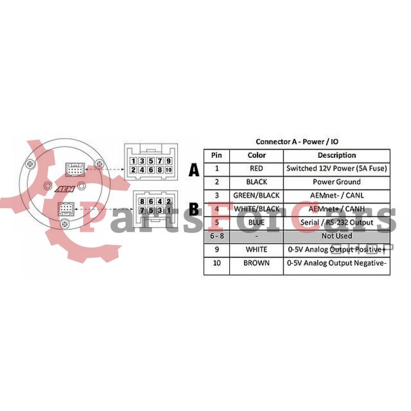 Широкополосный Лямбда Зонд ШЛЗ AEM X-Series 30-0300