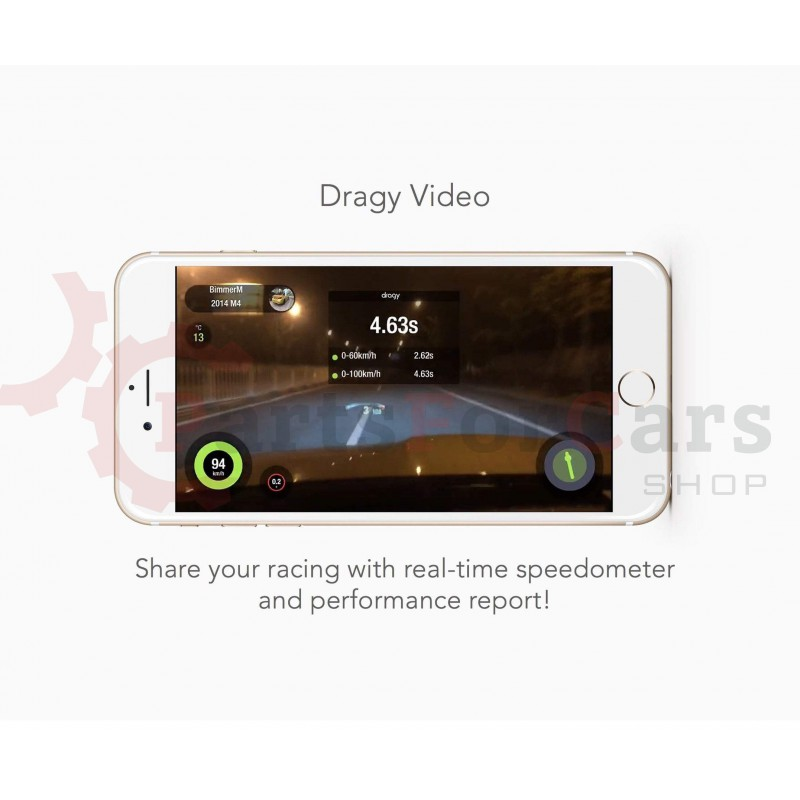 Измеритель динамики Dragy GPS Performance Meter / RSM Racelogic