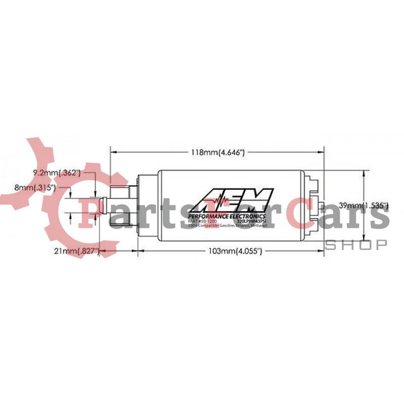 Погружной топливный насос AEM 50-1200 320 л\ч