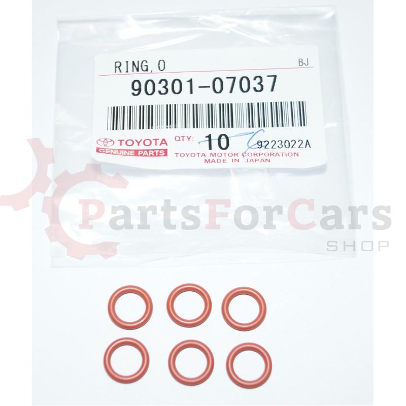 Комплект верхних уплотнительных колец форсунок Toyota 90301-07037