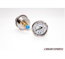 Манометр Circuit Sports FPG-001-GD для топливных регуляторов