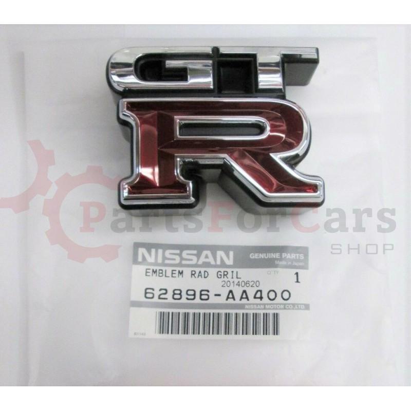 Эмблема решетки радиатора Nissan Skyline GT-R BNR34 62896-AA400