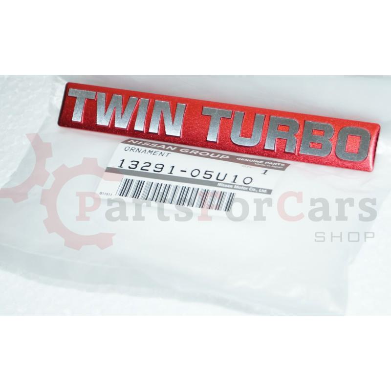 Эмблема Nissan 13291-05U10 Twin Turbo RB26 GT-R R32 R33 R34