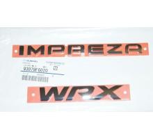 Эмблема багажника задняя Subaru 93079FG020 Impreza WRX