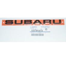 Эмблема багажника задняя Subaru 93079FG010