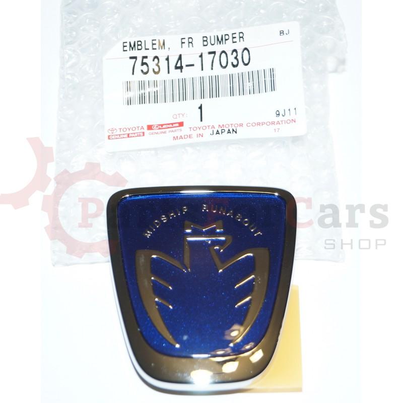 Эмблема передняя Toyota 75314-17030 MR-S ZZW30 MR2 Spyder