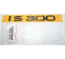 Эмблема крышки багажника Lexus IS300 Toyota 75443-53020