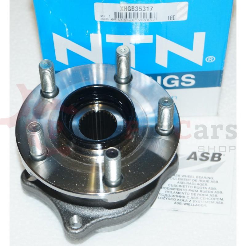 Ступица задняя NTN XHGB35317 для Subaru G12 S12 B14 ->11