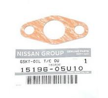 Прокладка маслоподачи турбины к блоку Nissan 15196-05U10 RB26DETT