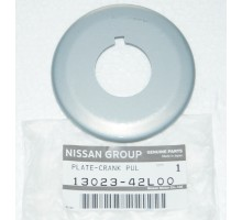 Шайба стопорная болта шкива коленвала Nissan 13023-42L00 для RB20 RB25